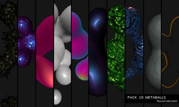 Pack 10 Metaballs