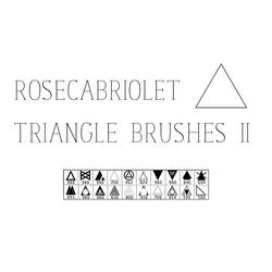 RoseCabriolet Triangle Brushes II