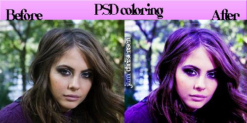 PSD coloring by JanaChristensen