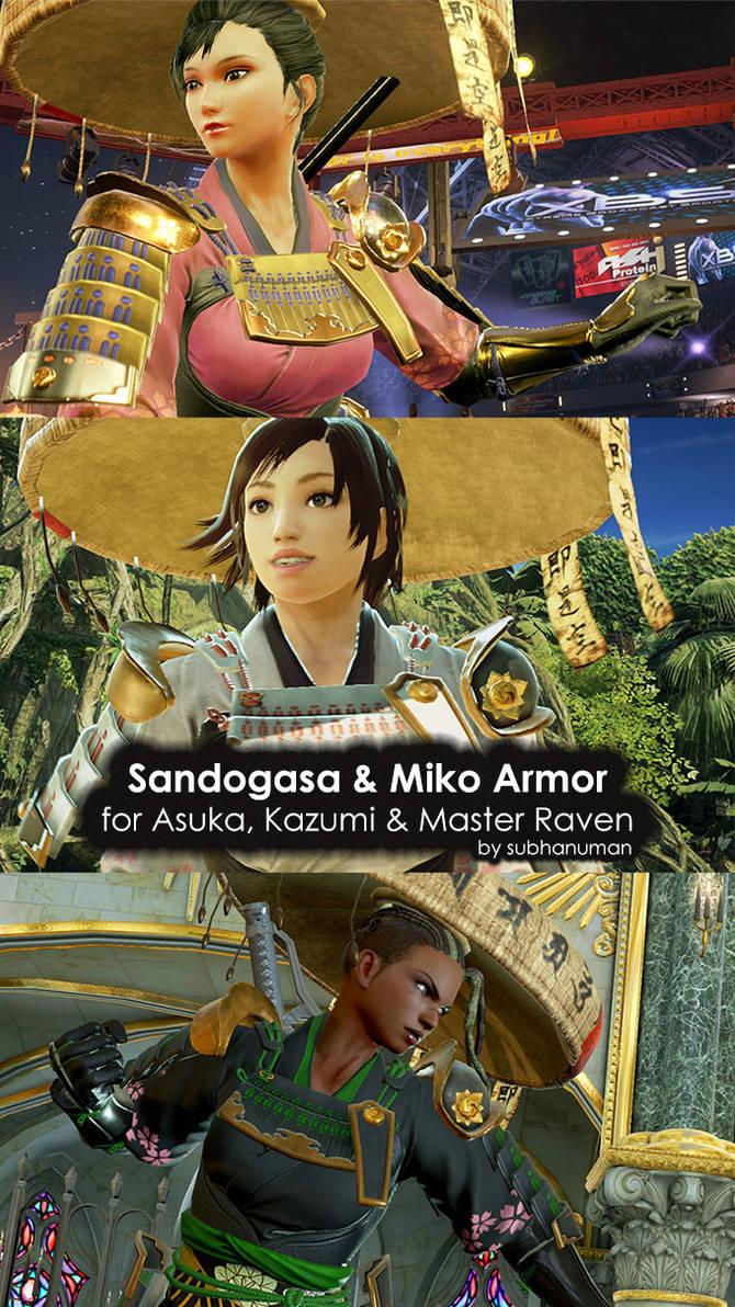 Sandogasa and Miko Armor