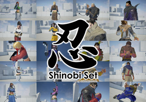 Shinobi Set by subhanuman