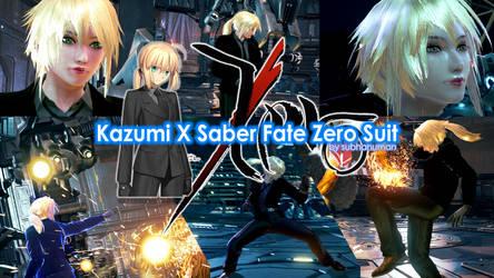 Kazumi X Saber Fate Zero Suit