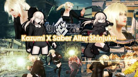 Kazumi X Saber Alter Shinjuku