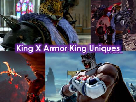 King X Armor King Uniques