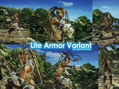 Master Raven's Lite Armor Variant