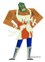 Beefador (the Luchador - Guacamelee) by KeayaLP