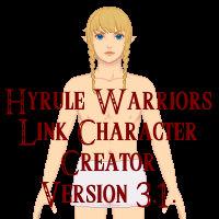 Zelda character creator: HW Link V 3 1  by Charlie-Suiko on