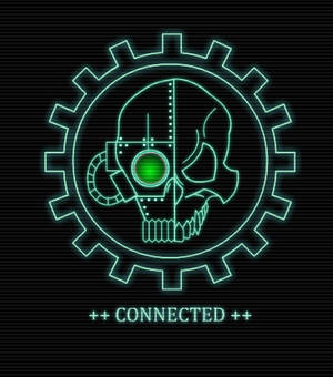 Adeptus Mechanicus Cogitator Interface Animation