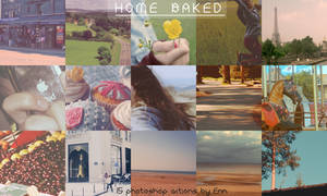 Home Baked Photoshop Actions
