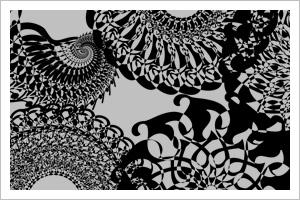 Raspberry Swirl: Custom Shapes by strippeds0cks