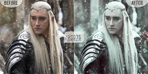 PSD Coloring #76 | Thranduil by Linkward
