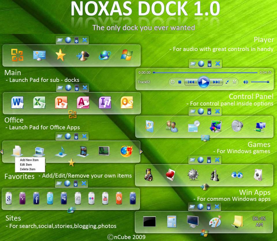 Noxas Dock 1.0