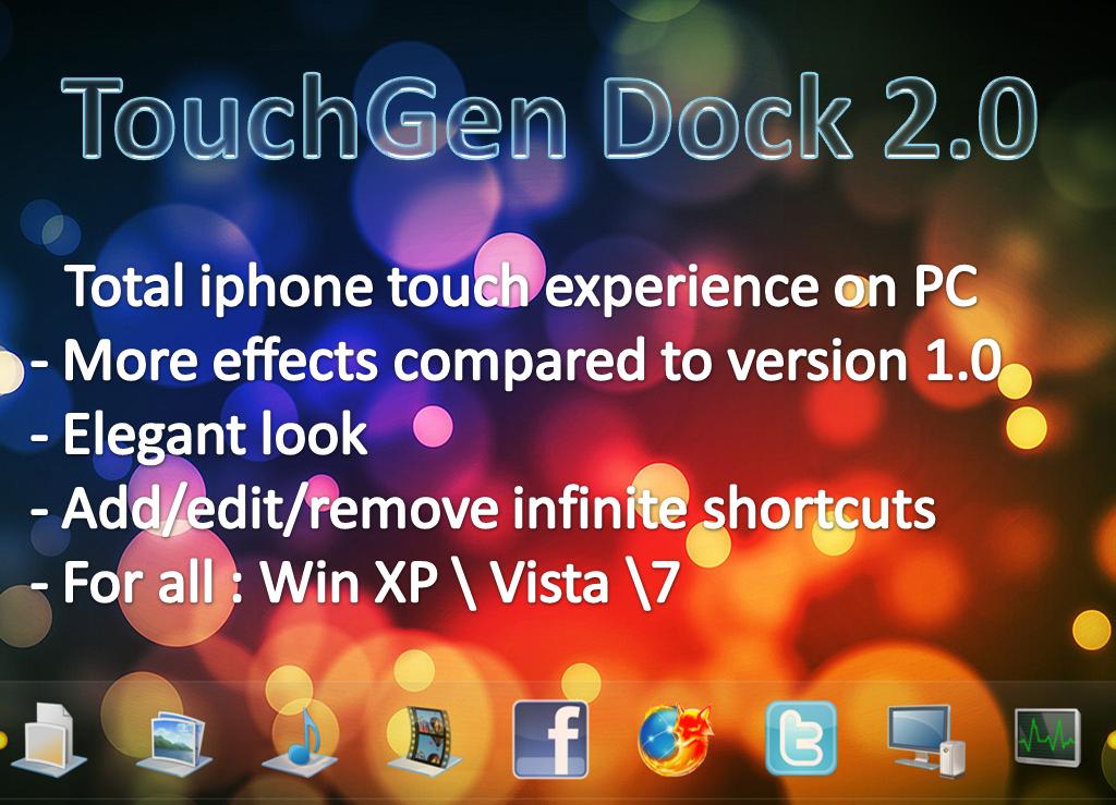 TouchGen Dock 2.0 by dncube