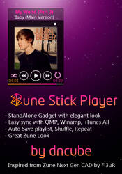 Zune Stick Player