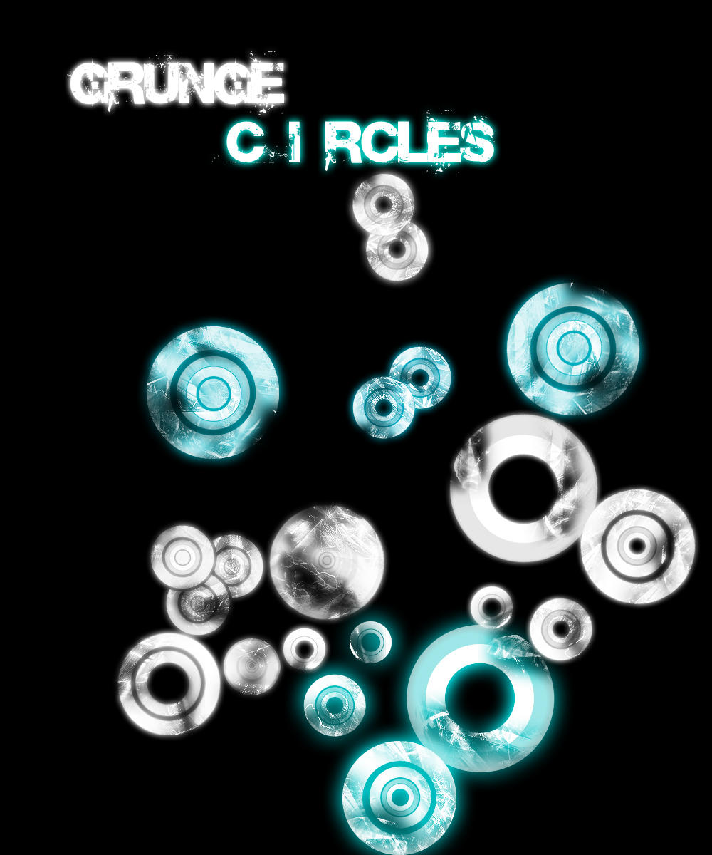 Circle Grunge Brush by pullzar