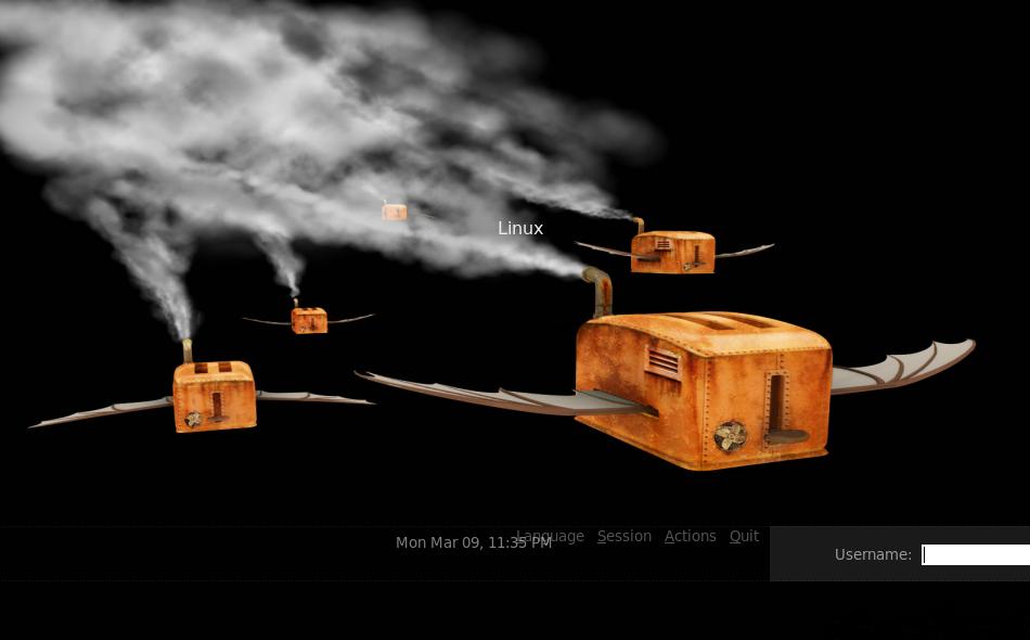 Flying Toasters Login Screen By Vonsmallhausen On Deviantart