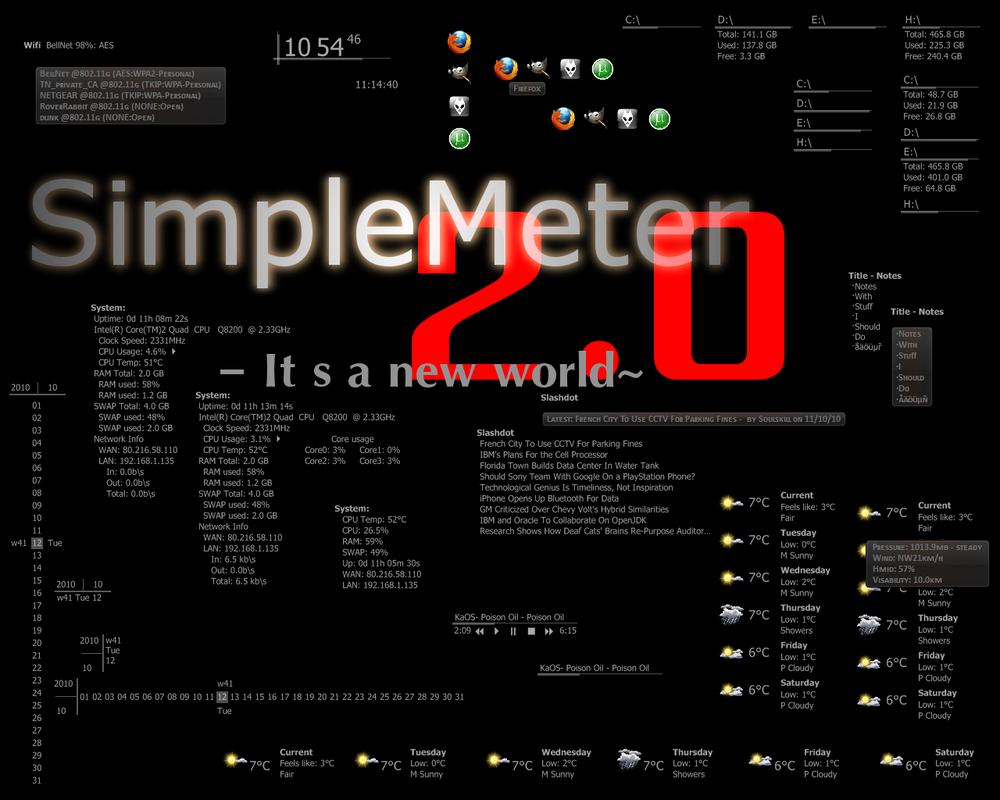 SimpleMeter_v2.0 by vonSmallhausen