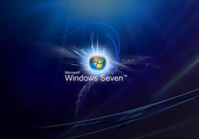 Windows Se7en Blue by Marobisoft