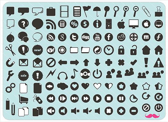 RETRO Style Icons by Doru94