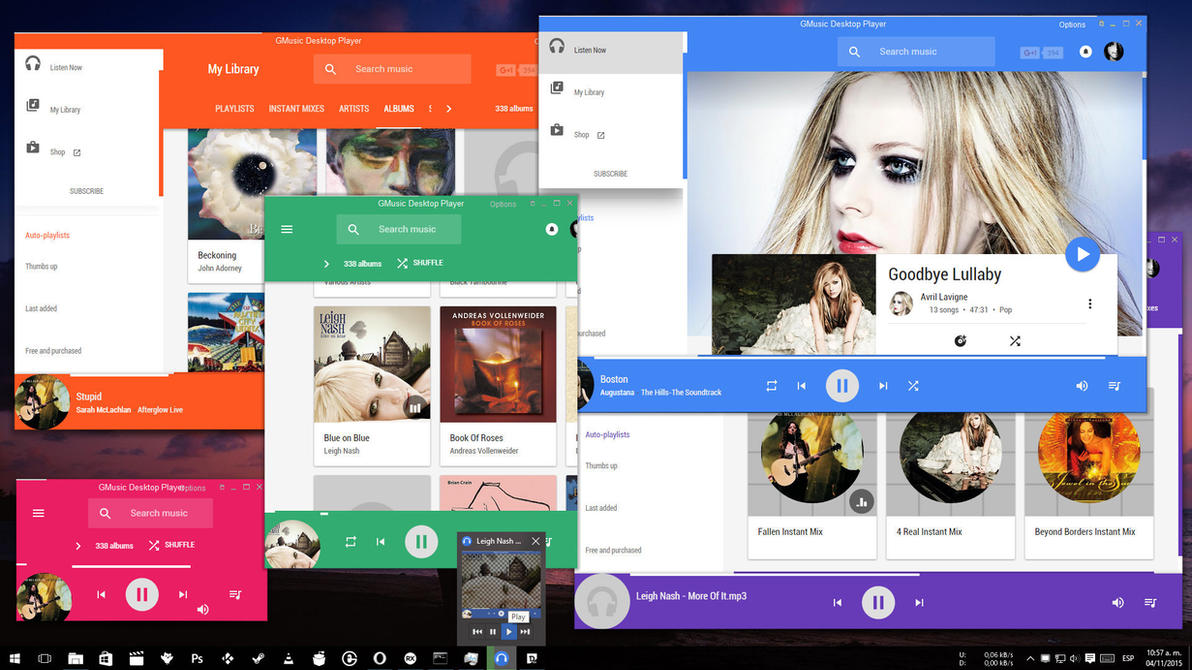 Google Music Desktop Player by vhanla