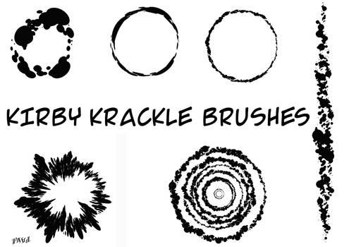 Kirby Krackle Brushes