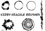 Kirby Krackle Brushes