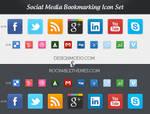 Social Media Bookmarking Icons