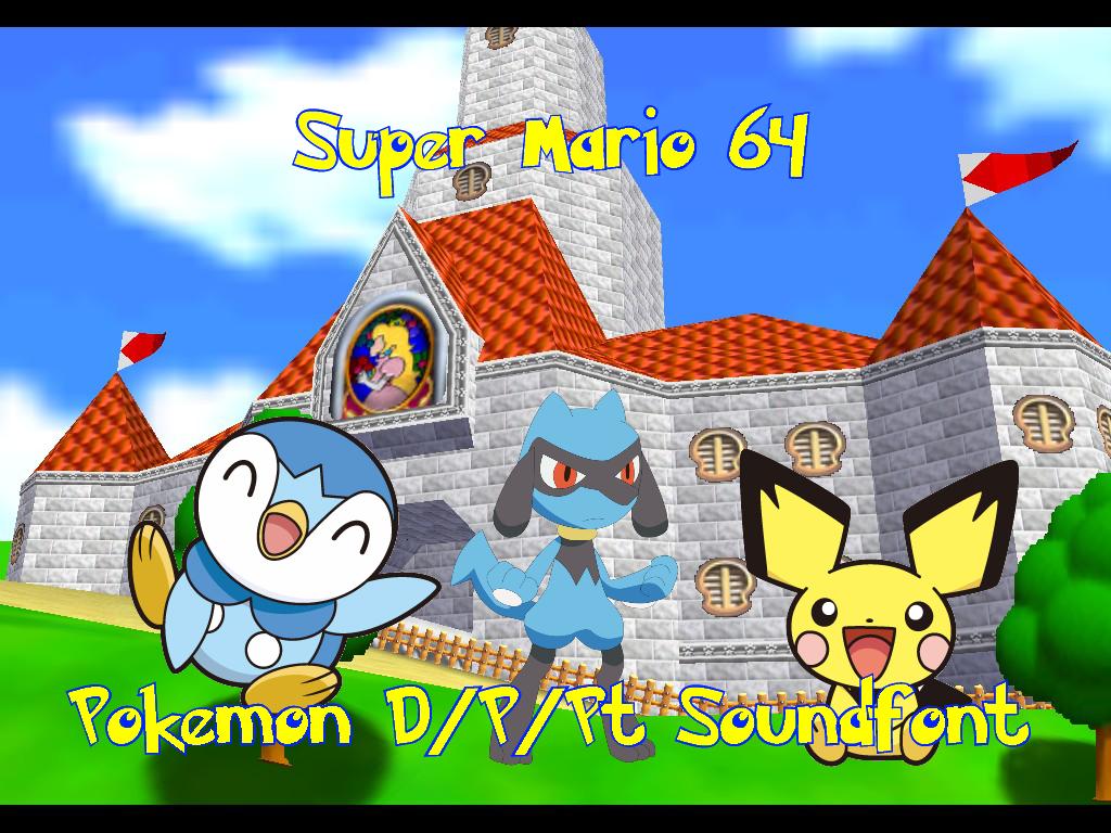 Super Mario 64 OST (Pokemon D/P/Pt Soundtrack) by
