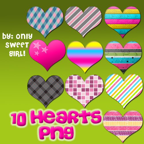 Hearts png by OnlySweetGirl