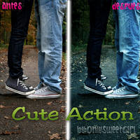 Cute Action by OnlySweetGirl