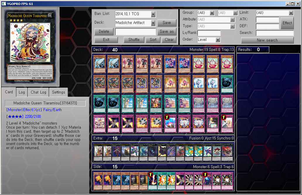 Yu-Gi-Oh! YGOPRO Deck - Madolche/Artifact by YGOPROPro on DeviantArt