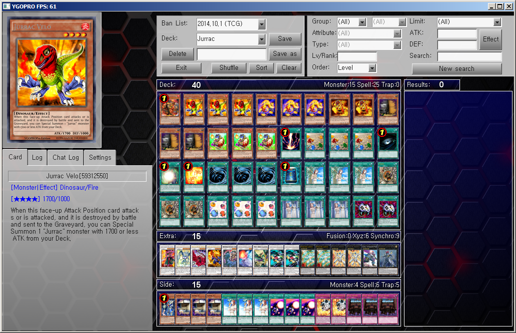 Yu gi oh ygopro deck jurrac by ygopropro on deviantart yu gi oh ygopro deck jurrac by ygopropro ccuart Images