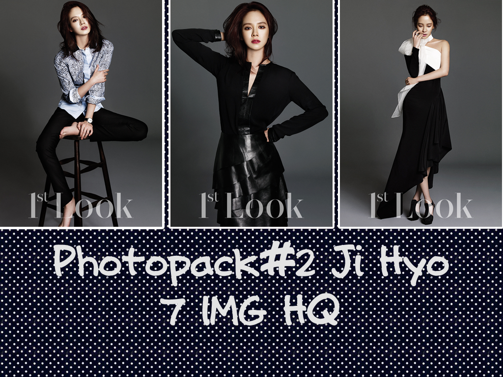Photopack#2 Song Ji Hyo by jangddh1932001