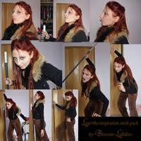Lagertha Vikings inspiration stock (more inside) by Blossom-Lullabies