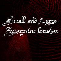 Fingerprint Brushes for GIMP by Shift-ing