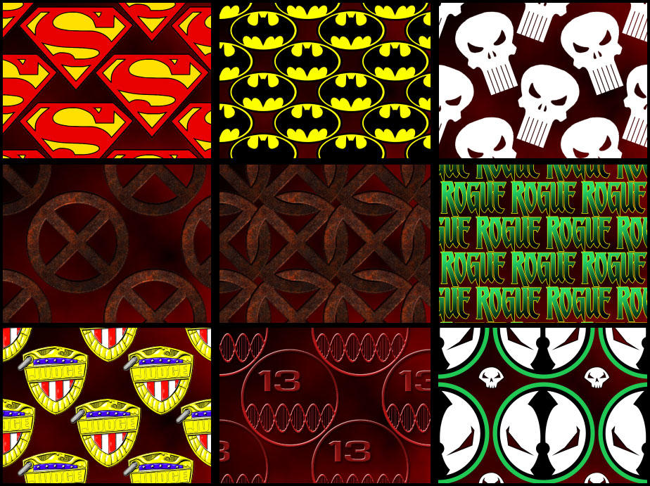 Comic patterns by joeadonis