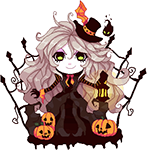 Halloween Kira Pagedoll by Fivey