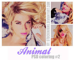 Animal PSD coloring #2 by stuckinfame