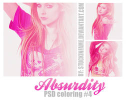 Absurdity PSD#4 (Para Displays) by stuckinfame