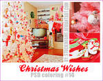 Christmas Wishes. PSD coloring #14