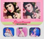Spectrum. PSD coloring #18