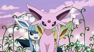Espon, Leafeon and Glaceon