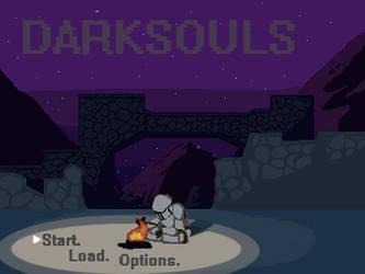 Darksouls Pixel Animation by Theponysketchguy
