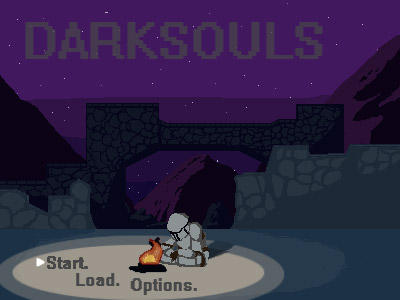 Darksouls Pixel Animation