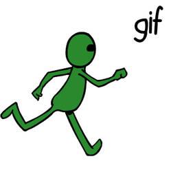 Alien Run (gif)