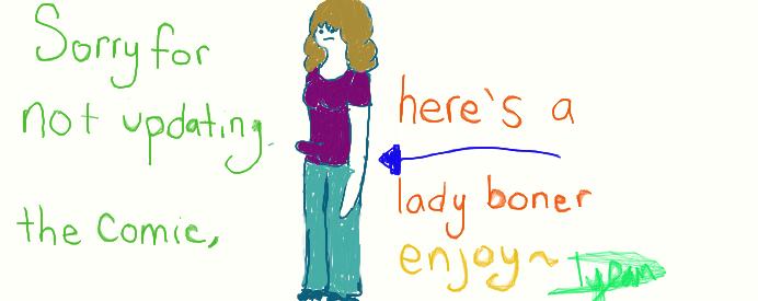 What is a lady boner