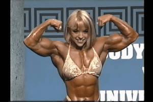 Blondie's Got Biceps! 2