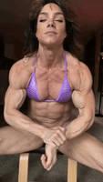 Young musclegirl