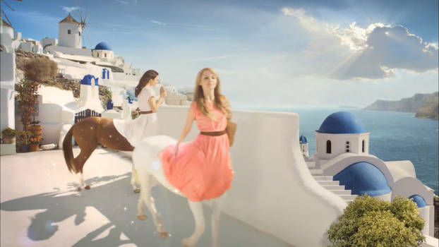 Female Centaurs in a Commercial version 1