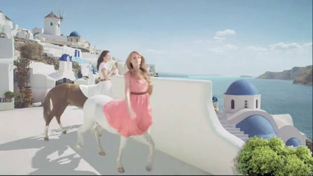 Female Centaurs in a Commercial version 2